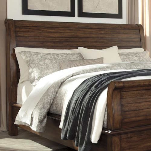 Signature Design by Ashley Chaddinfield King/California King Sleigh Headboard