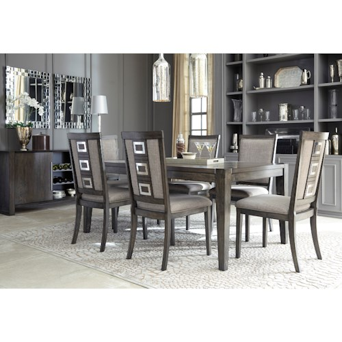 Signature Design by Ashley Chadoni Formal Dining Room Group