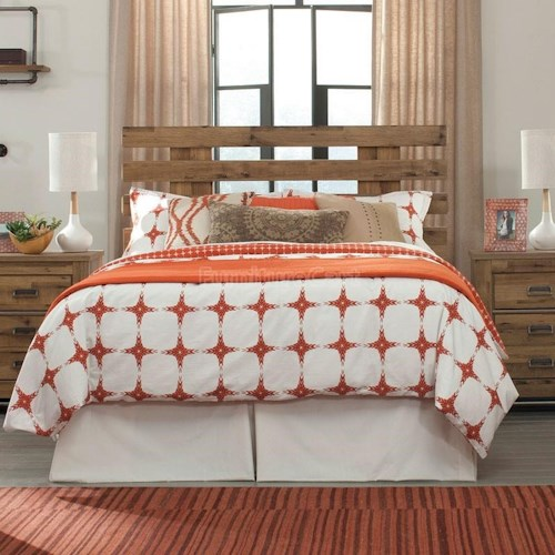 Signature Design by Ashley Cinrey Contemporary Queen Panel Headboard with Wide Slats