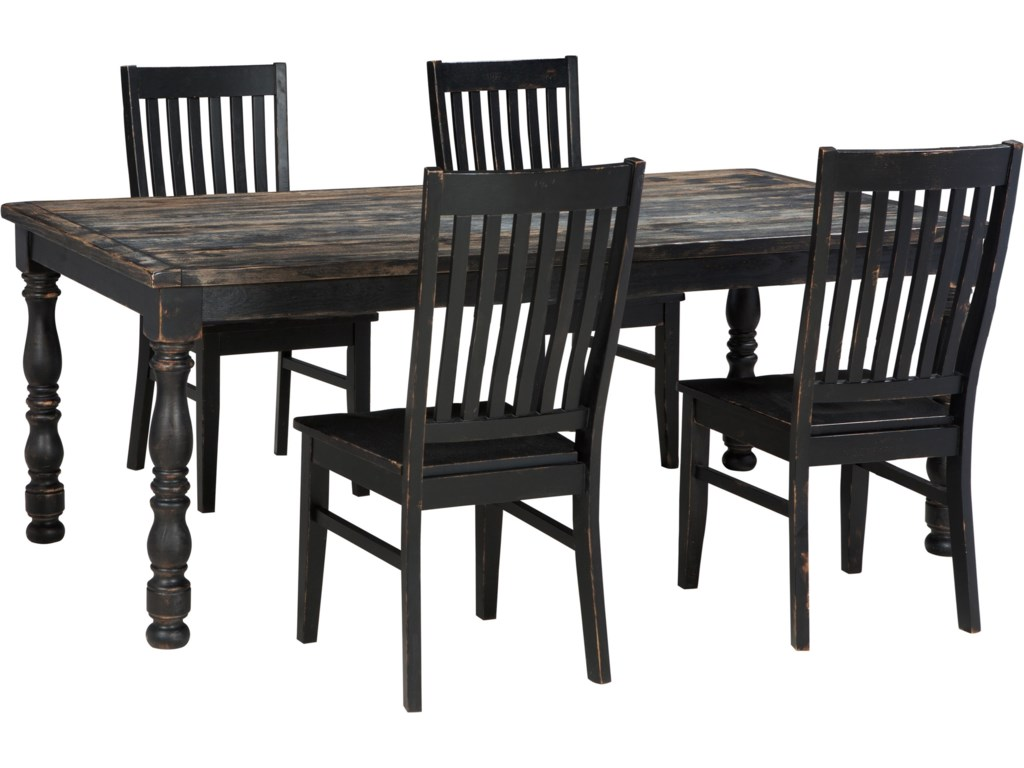 Ashley dining room furniture - Signature Design By Ashley Clayco Bay 5 Piece Rectangular Dining Room Table Set Del Sol Furniture Dining 5 Piece Sets