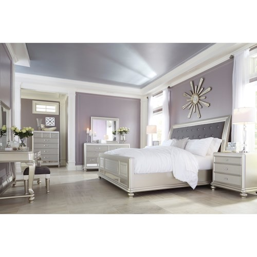 Signature Design by Ashley Coralayne King Bedroom Group