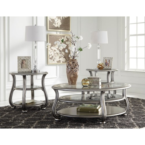Signature Design by Ashley Coralayne Occasional Table Group