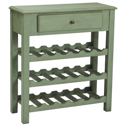 Signature Design by Ashley Furniture Mirimyn Console with Wine Rack
