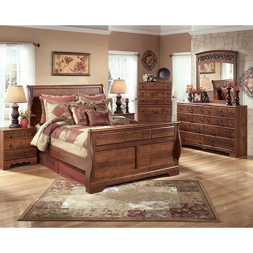 Signature Design by Ashley Timberline Queen 6 Piece set