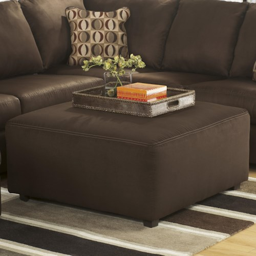Signature Design by Ashley Cowan - Cafe Casual Oversized Accent Ottoman