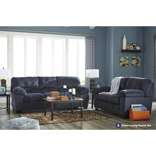 Signature Design by Ashley Dusk 5PC Living Room Package