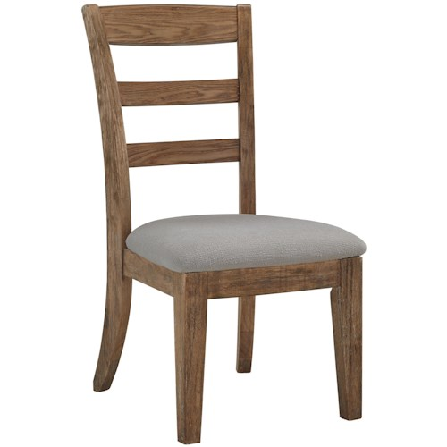 Signature Design by Ashley Danimore Dining Upholstered Side Chair with Ladder Back