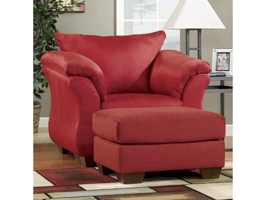 Upholstered Chairs For Living Room Signature Design By Ashley Darcy Salsa Contemporary Upholstered
