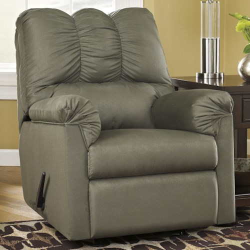 Signature Design by Ashley Darcy - Sage Rocker Recliner