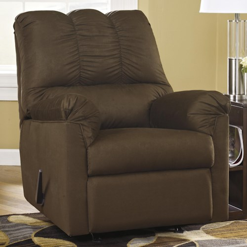 Signature Design by Ashley Darcy - Cafe Rocker Recliner