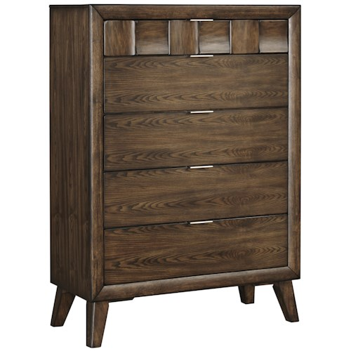 Signature Design by Ashley Debeaux Five Drawer Chest