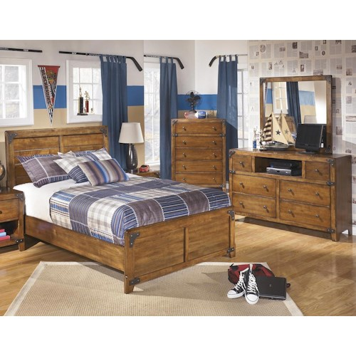 Signature Design by Ashley Cole 3PC Full Bedroom Set