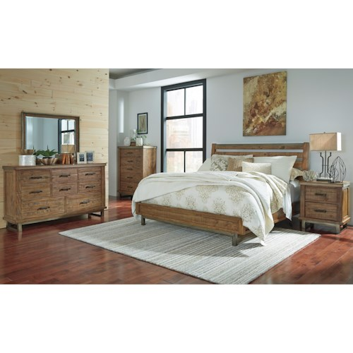 Signature Design by Ashley Dondie California King Bedroom Group