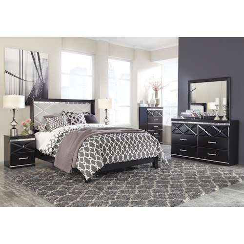 Signature Design by Ashley Fancee Queen Bedroom Group