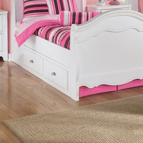 Signature Design by Ashley Lil' Darling Under Bed Storage