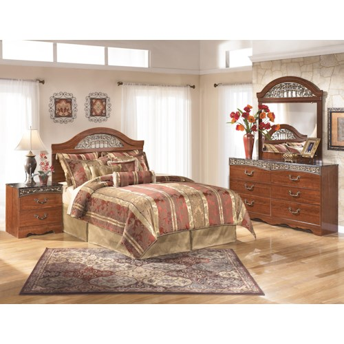 Signature Design by Ashley Brookfield Queen Bedroom Group