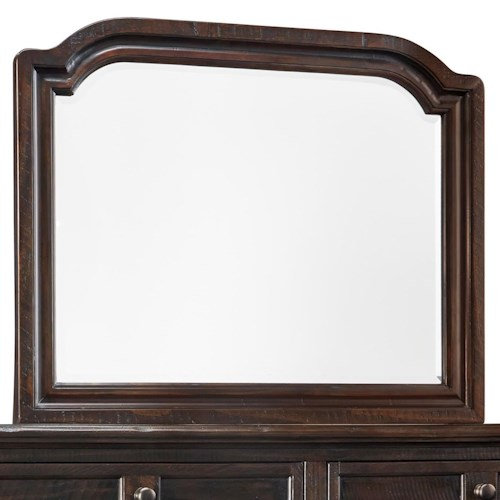 Signature Design by Ashley Gerlane Solid Pine Wood Bedroom Mirror