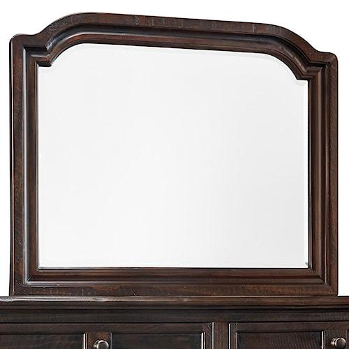 Signature Design by Ashley Gerlane Solid Pine Wood Bedroom Mirror