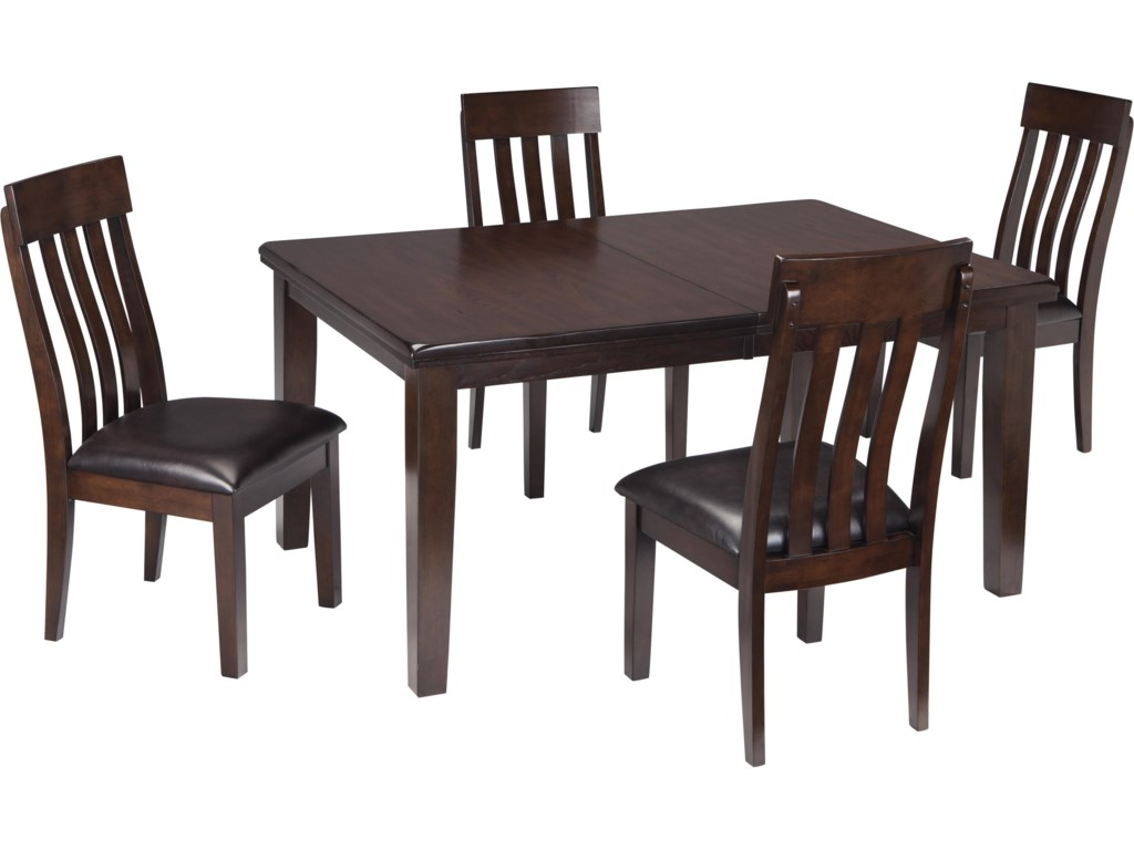 Rectangle Dining Room Tables Signature Design By Ashley Haddigan 5 Piece Rectangular Dining