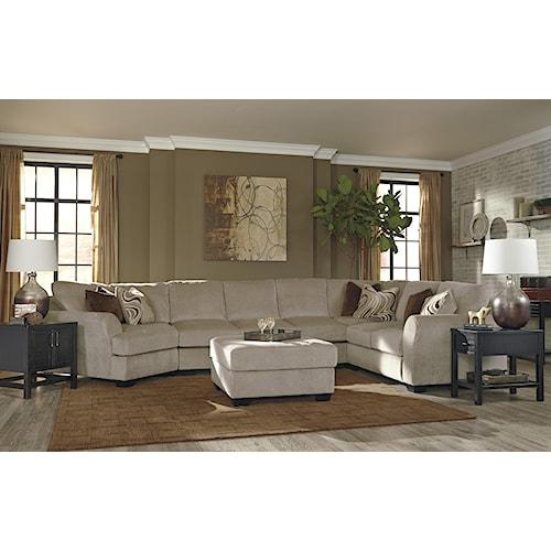Ashley/Benchcraft Hazes Stationary Living Room Group