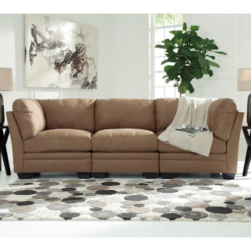 Signature Design by Ashley Iago Contemporary Modular Sofa