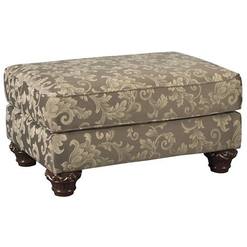 Signature Design by Ashley Irwindale Traditional Ottoman