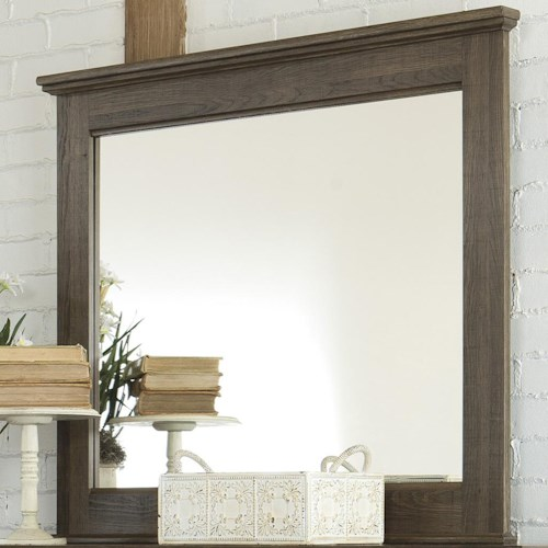 Signature Design by Ashley Juararo Dresser Bedroom Mirror