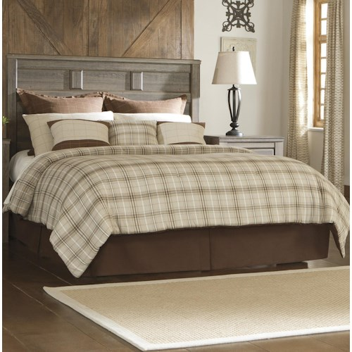 Signature Design by Ashley Sawyer Transitional Queen Panel Headboard