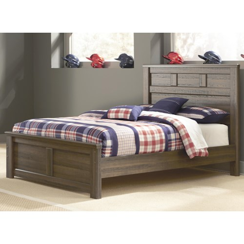 Signature Design by Ashley Juararo Transitional Full Panel Bed