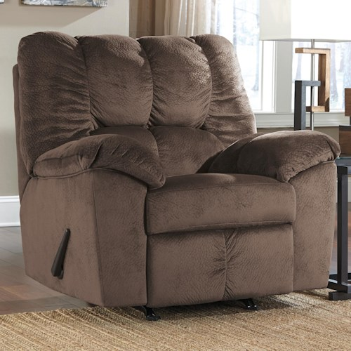 Signature Design by Ashley Julson - Cafe Casual Contemporary Rocker Recliner