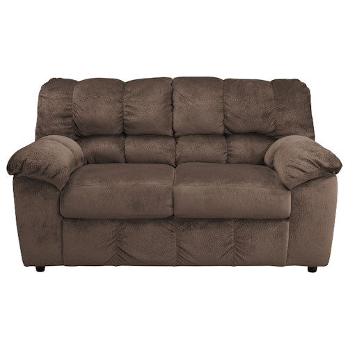 Signature Design by Ashley Julson - Cafe Casual Contemporary Loveseat