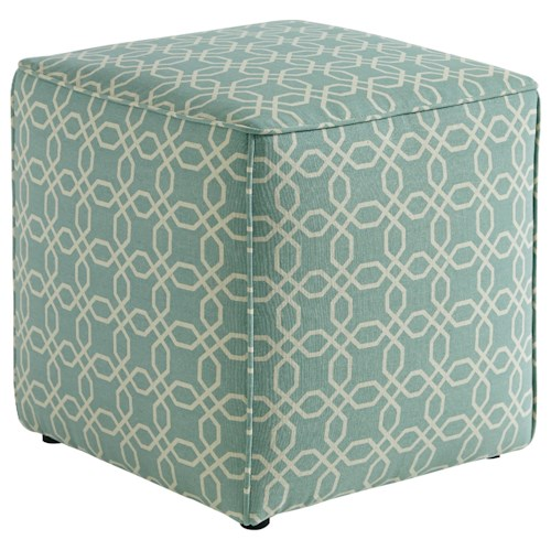 Signature Design by Ashley Kamibol Contemporary Cube Accent Ottoman