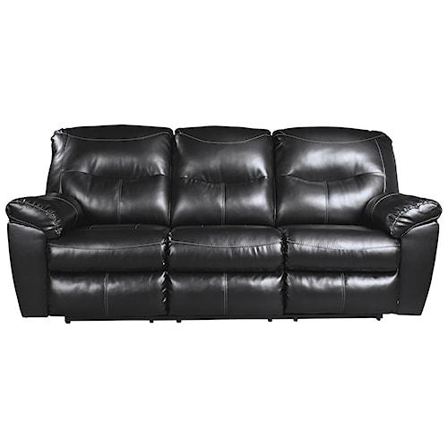 Signature Design by Ashley Kilzer DuraBlend® Contemporary Reclining Sofa