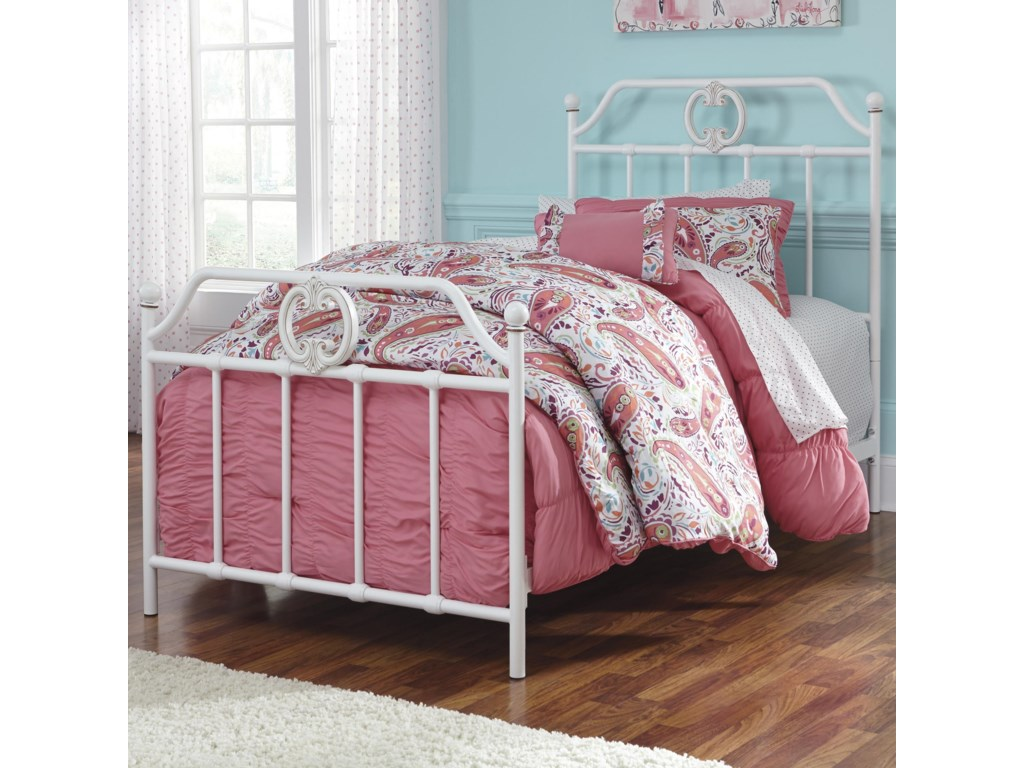 Twin Size Bed Shown.