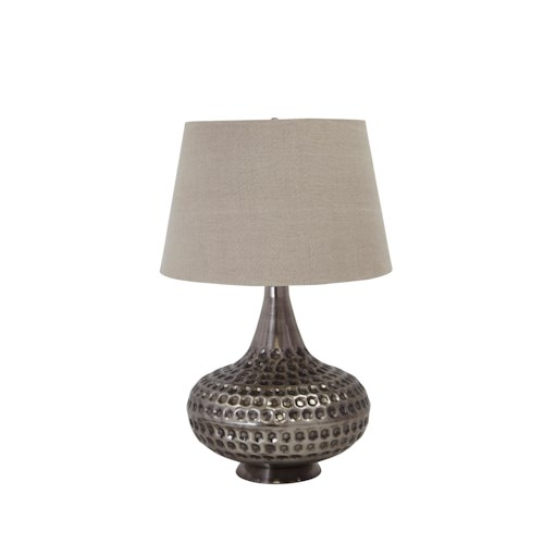 Signature Design by Ashley Lamps - Contemporary Sarely Metal Table Lamp