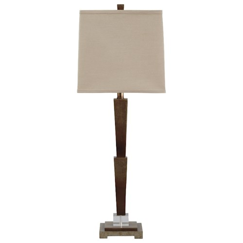 Signature Design by Ashley Lamps - Contemporary Malachy Poly Table Lamp