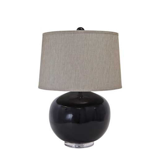 Signature Design by Ashley Lamps - Contemporary Poly Table Lamp