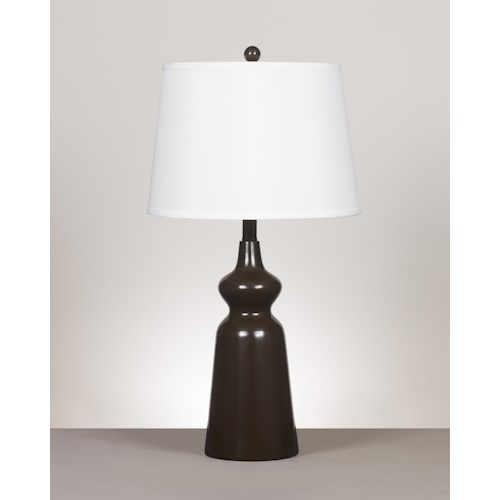 Signature Design by Ashley Lamps - Contemporary Set of 2 Olicia Metal Table Lamps