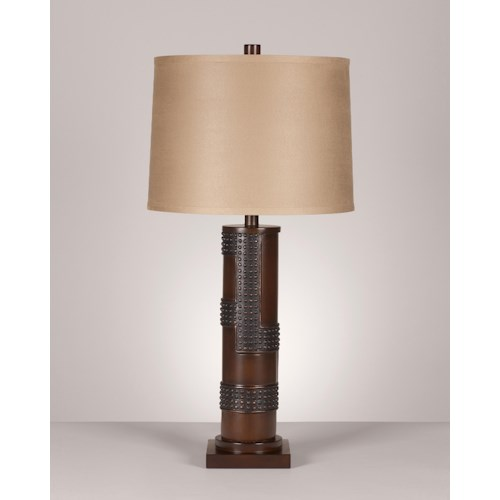 Signature Design by Ashley Lamps - Contemporary Set of 2 Oriel Poly Table Lamps