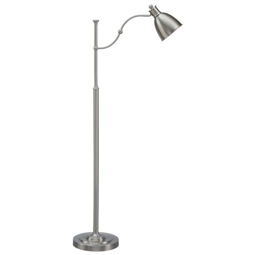 Signature Design by Ashley Lamps - Vintage Style Shavaun Metal Floor Lamp