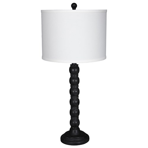 Signature Design by Ashley Lamps - Traditional Classics Set of 2 Shellany Table Lamps