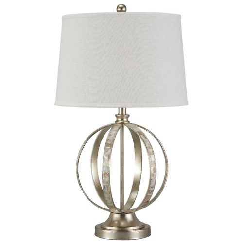 Signature Design by Ashley Lamps - Traditional Classics Shaunnea Metal Table Lamp