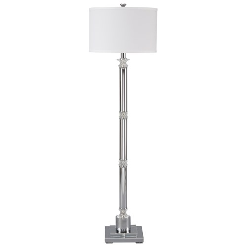 Signature Design by Ashley Lamps - Traditional Classics Marlon Metal Floor Lamp