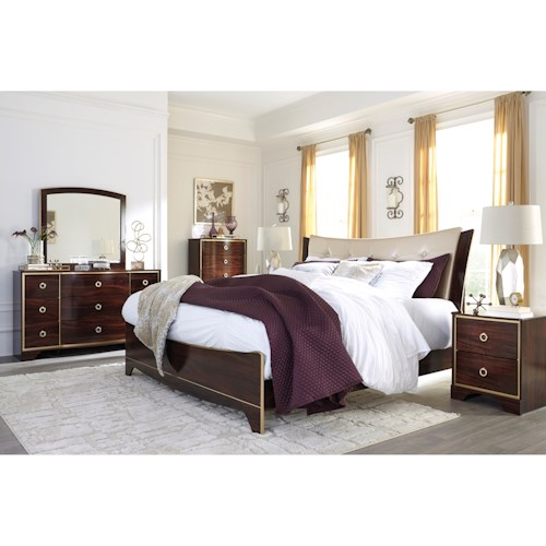 Signature Design by Ashley Lenmara King Bedroom Group