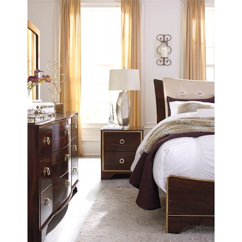Signature Design by Ashley Lenmara Queen Bedroom Group