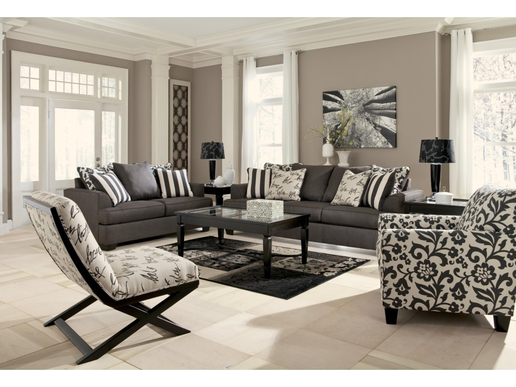 Shown with Loveseat, Sofa, and Accent Chair