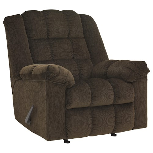 Signature Design by Ashley Ludden - Cocoa Rocker Recliner