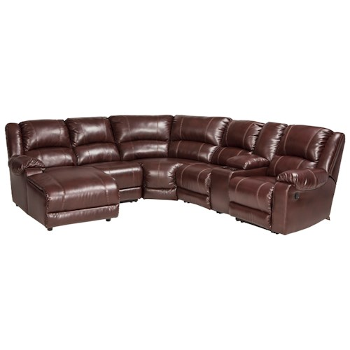 Signature design by ashley macgrath durablend reclining for Ashley reclining chaise