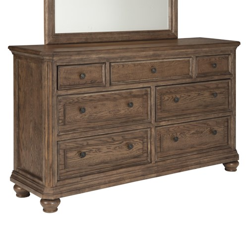 Signature Design by Ashley Maeleen Transitional Dresser with Jewelry Tray