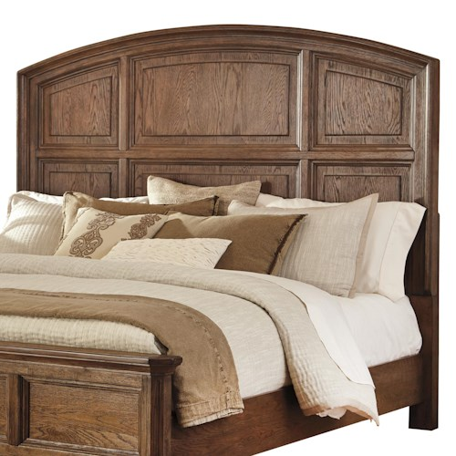Signature Design by Ashley Maeleen Queen Panel Headboard with Arched Shape